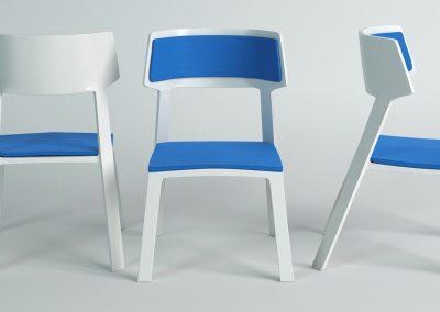 Diseño sillas exclusivas oficina