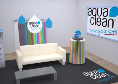 Diseño 3d corner aquaclean