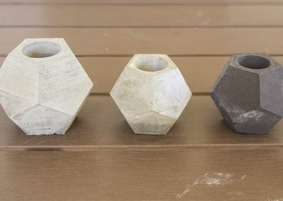 diseño productos de cemento