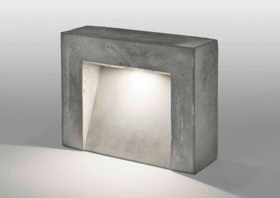 lampara de cemento led